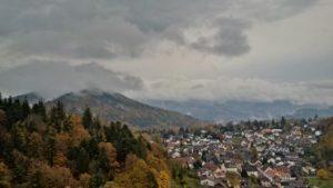 Aussicht von Burgturm