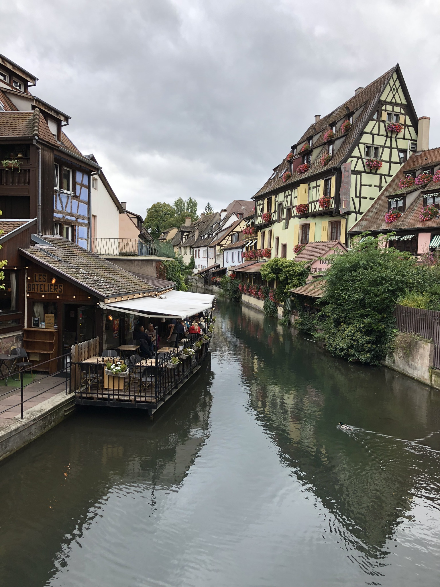 Kanal in Colmar, Elsass