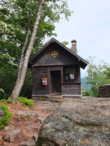 Berwachthütte am Batterfelsen