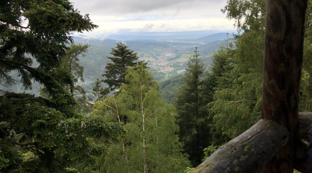 Aussicht vom Latschigfelsen
